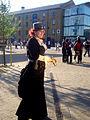 MCM London 2013 - Steampunk Lady (8963074912).jpg