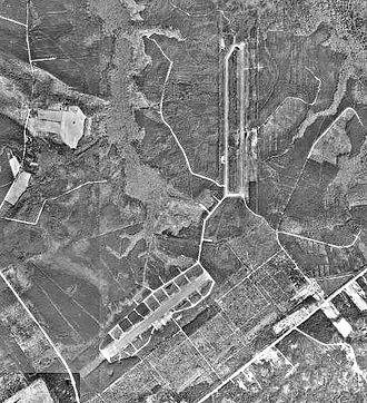Marine Corps Outlying Field Camp Davis - USGS aerial image – 8 March 1993