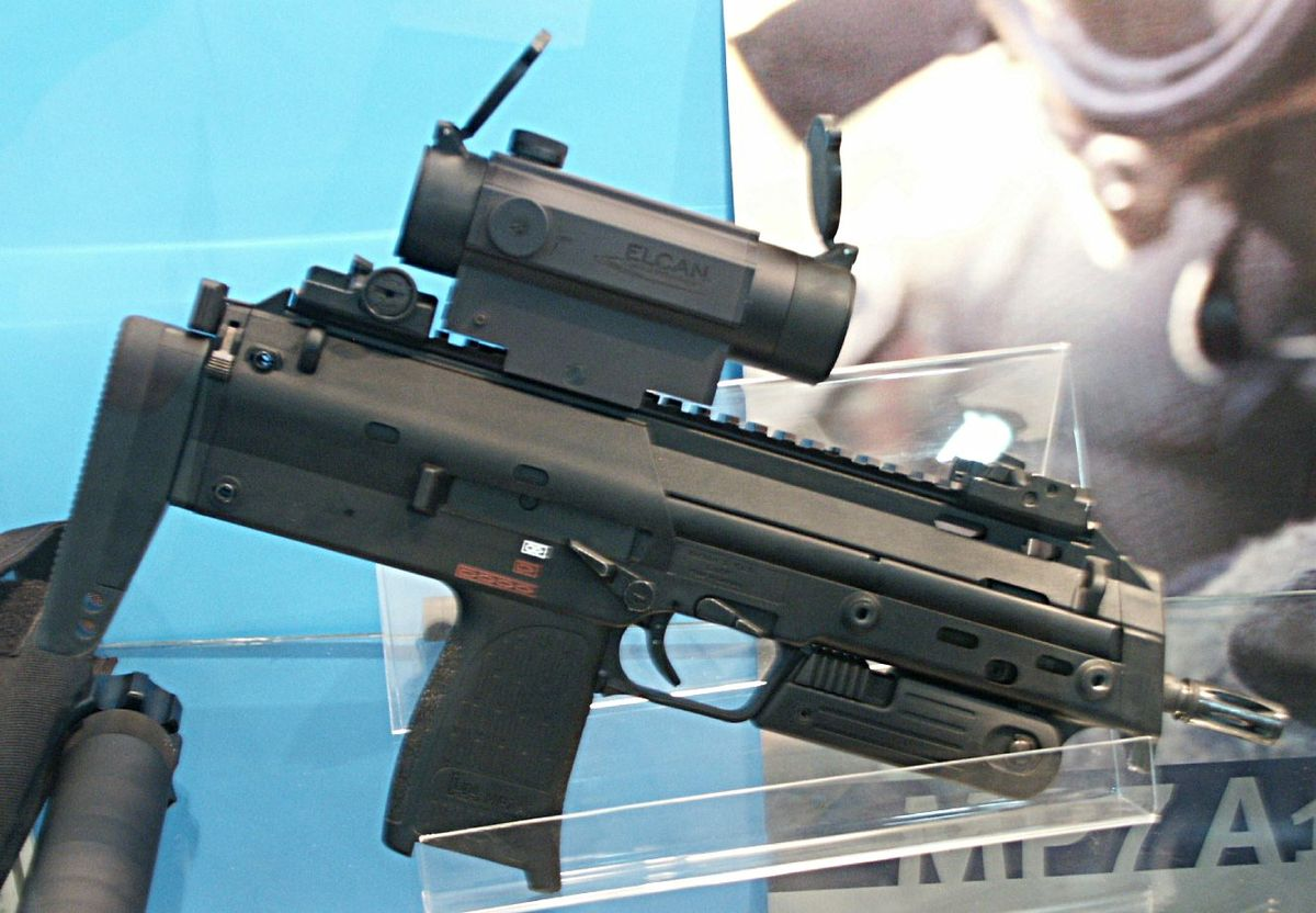 Heckler Amp Koch Mp7 Wikipedia