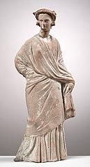Femme debout drapée 25793