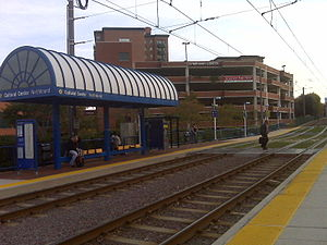 MTA Maryland Light Rail Cultural Center Station.jpg