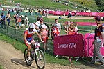 MTB cycling 2012 Olympics M cross-country CRC Paolo Montoya.jpg