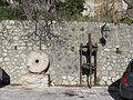 Macina e Torchio oleario a vite (Millstone and Olive oil press) - Gallicianò - Condofuri (Reggio Calabria) - Italy - 17 Jan. 2015 - (2).jpg
