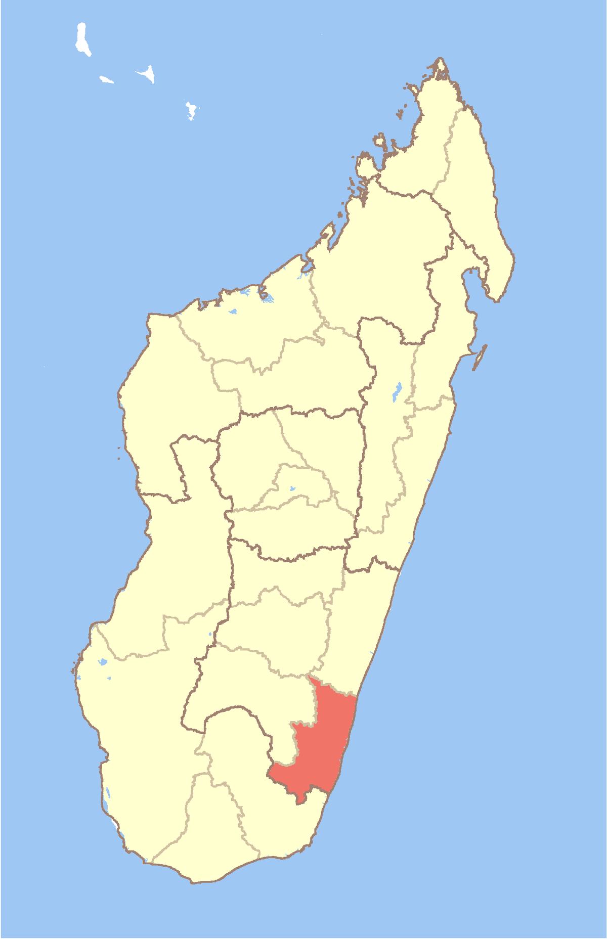 Carte Madagascar A Imprimer.Atsimo Atsinanana Wikipedia