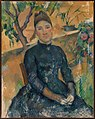 Madame Cézanne (Hortense Fiquet, 1850–1922) in the Conservatory MET DP317780.jpg