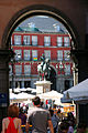 Madrid. Mayor square. Equestrian statue of Felipe III. Spain (2853727938).jpg