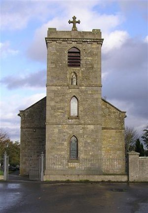 Maghery - The old Catholic church in Maghery