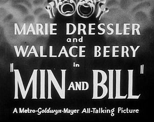 Min and Bill - Image: Main Title Min Bill 1930Trailer
