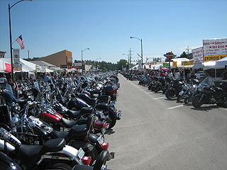 Sturgis Motorcycle Rally Large summer gathering of motorcycle enthusiasts in South Dakota