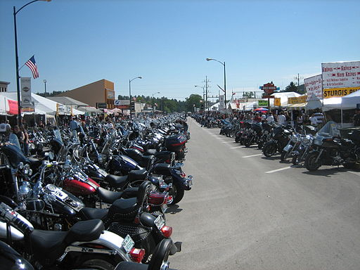 Main Street Sturgis South Dakota Bike Week