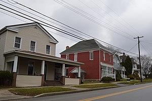 Shippenville, Pennsylvania - Houses on Main Street