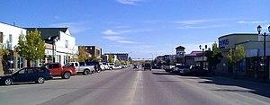 Lac La Biche, Alberta - Main street