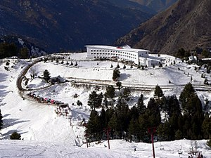 PTDC - A motel of PTDC at Malam Jabba ski resort in Swat valley