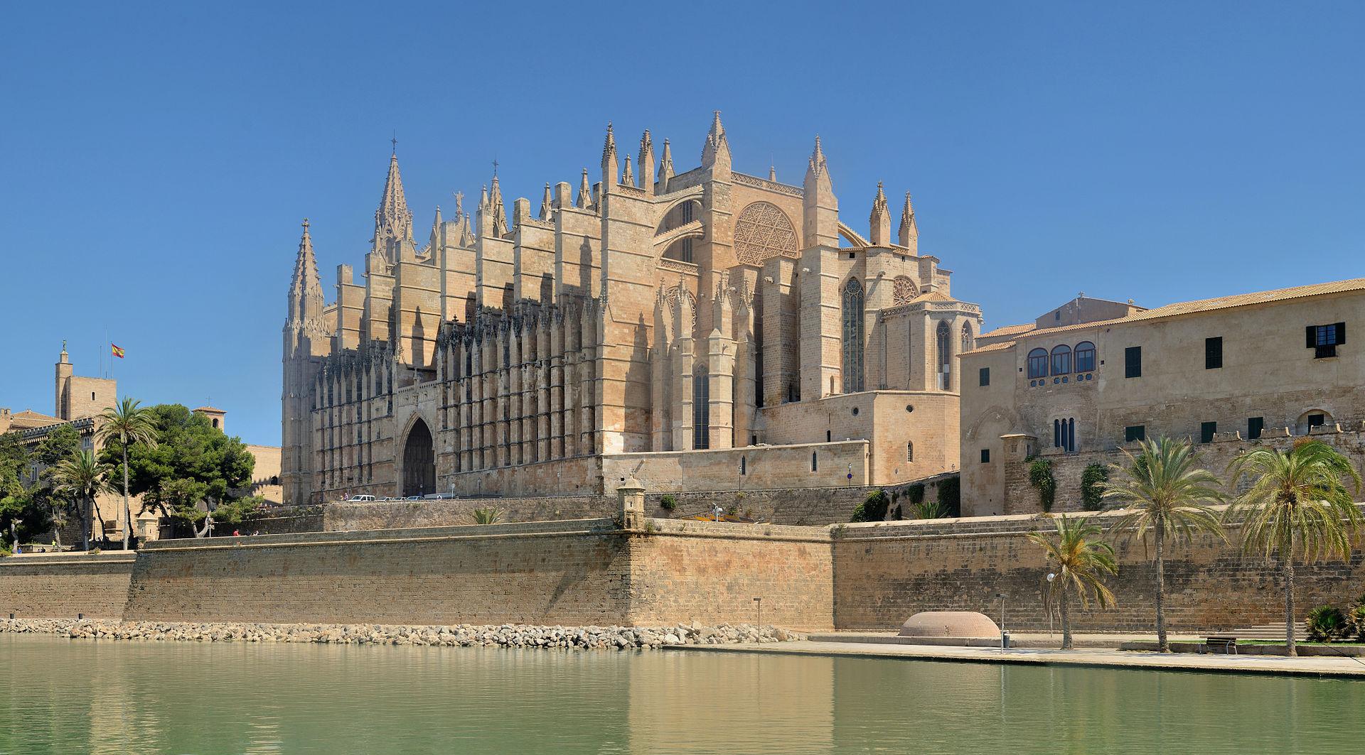 Catedral de santa mar a de palma de mallorca wikipedia for Oficina yoigo palma de mallorca