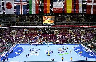 Malmö Arena - Malmö Arena during the 2011 World Men's Handball Championships
