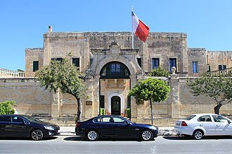 Siege of Malta (1798–1800) - Casa Leoni, the command base for the Maltese insurgents