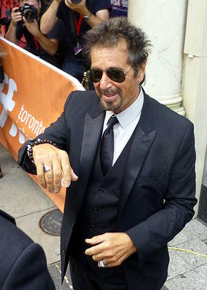 China Doll (play) - Pacino plays the lead role of Mickey in David Mamet's 2015 play China Doll (photo 2014).