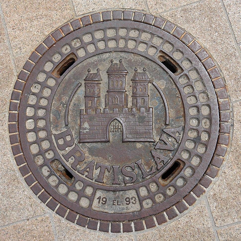 Manhole cover Bratislava