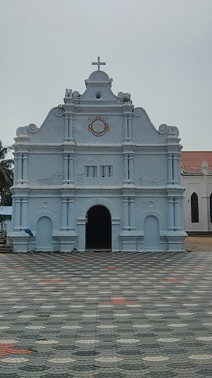 Basilica of Our Lady of Snows, Pallippuram - Church built by Dutch