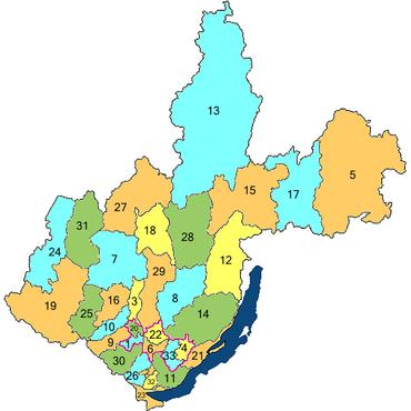 деление Иркутской области