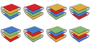 Map folding - 350 px