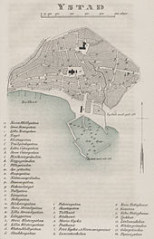 Ystad Wikipedia - Sweden map ystad