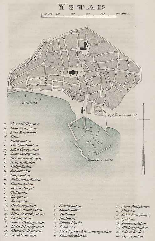 FileMap Ystad Swedenjpg Wikimedia Commons - Sweden map ystad