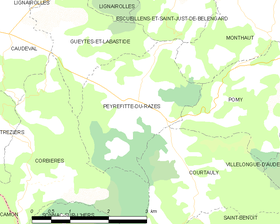 Map commune FR insee code 11282.png
