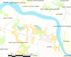 Map commune FR insee code 33207.png