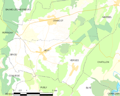 Map commune FR insee code 39558.png