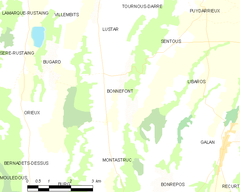 Map commune FR insee code 65095.png