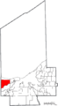 Map of Cuyahoga County Ohio Highlighting Westlake City.png