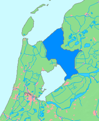 IJsselmeer - Image: Map of I Jsselmeer