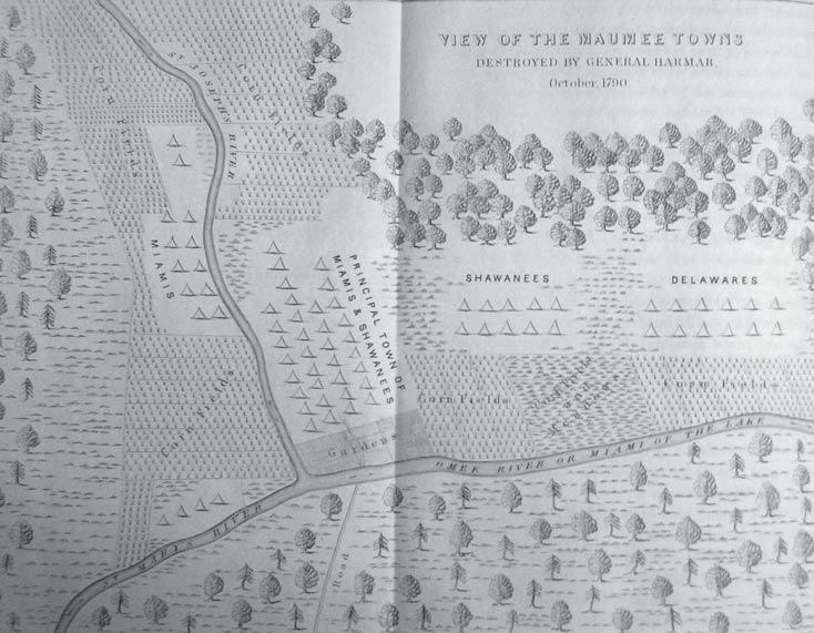 Map of Kekionga