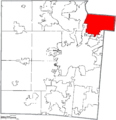 Map of Montgomery County Ohio Highlighting Huber Heights City.png