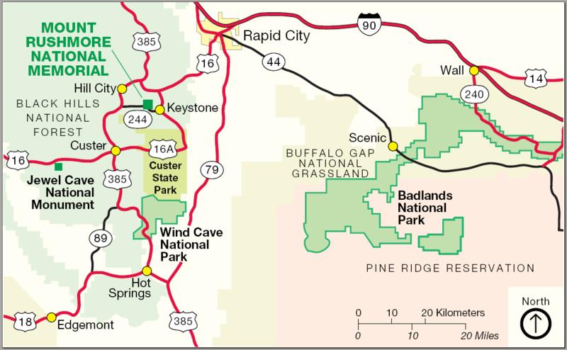 FileMap Of Mount Rushmorepng