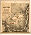 Map of the battle field of Carnifex Ferry, Gauley River, West Va., Sept. 10th 1861 - United States forces commanded by Brig. Gen. W.S. Rosecrans. LOC lva0000079.jpg