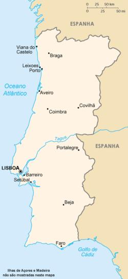 Portugalin Suurimmat Kaupungit