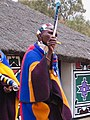 Mapoch.-musicienne Ndebele (crecelle).jpg