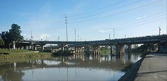 Marcos Bridge - Image: Marcos Bridge Marikina River