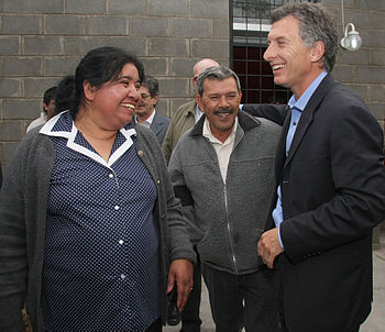 MargaritaBarrientosconMacri