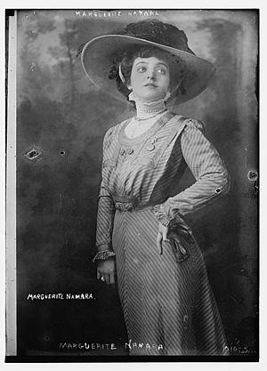 Marguerite Namara - Namara during the early part of her career.