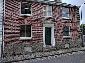 Maria Branwell - Maria Branwell's House, Penzance
