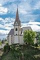 Maria Wörth Pfarrkirche hll. Primus und Felizian mit Karner NNW-Ansicht 06052019 6902.jpg