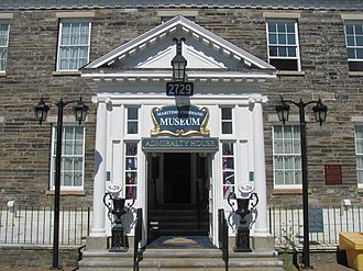 Naval Museum of Halifax - Entrance to the Museum