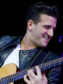 Mark Ballas - the cool, sexy, gracious,  actor, musician, dancer,   with Irish, English, Greek, Mexican,  roots in 2017