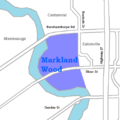 Markland Wood map.png