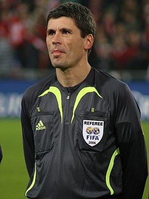 Markus Merk - Markus Merk at an international friendly between Switzerland and Brazil in November 2006