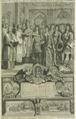 Marriage of HRH The Duke of Lorraine and Mademoiselle (Élisabeth Chartlotte d'Orléans) celebrated at Fontainebleau 13 October 1698.png