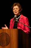 Mary Robinson at University of California, Santa Barbara 2011Oct21Cropped.jpg
